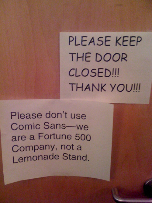 comic sans