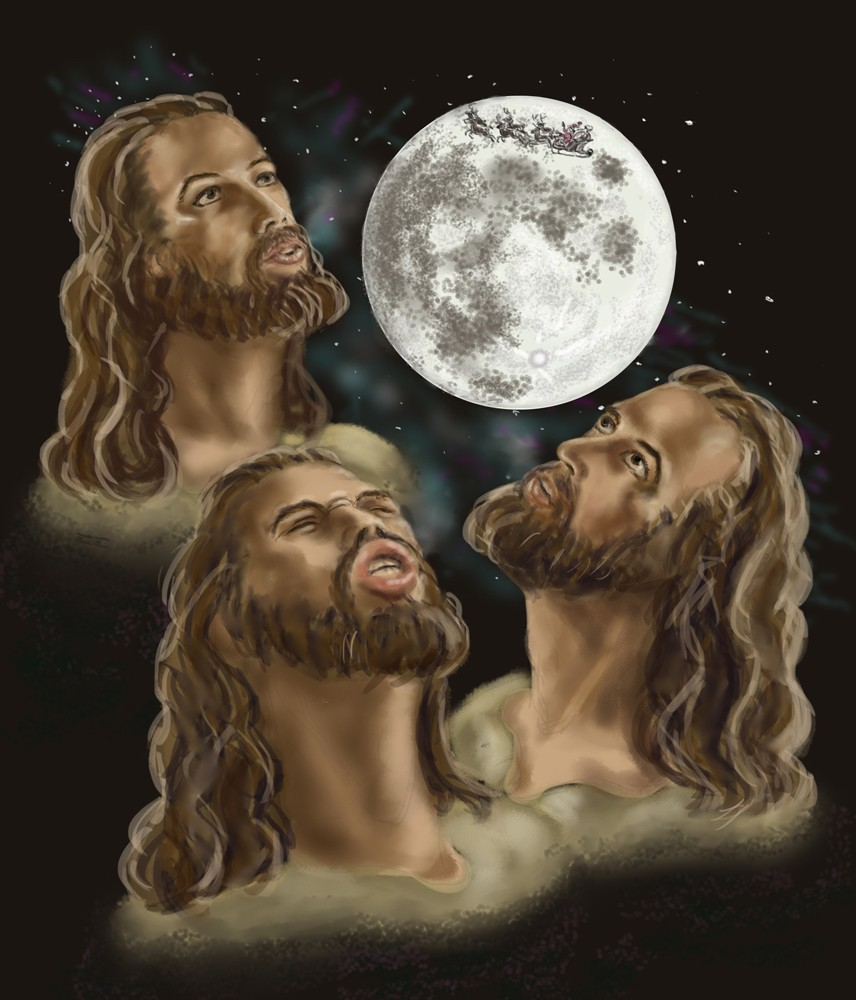 three jesus pics