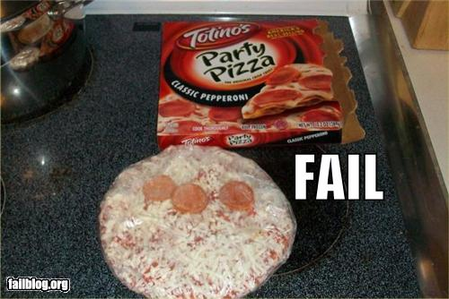 epic fail photos - Pizza Party FAIL