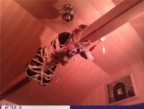 epic fail photos - After 12: How Did You Get Him Up There?