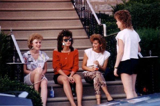 Stylish Girls from the 80