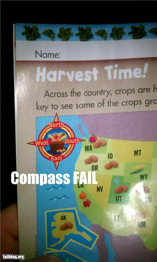 epic fail photos - Compass FAIL