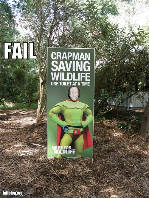 epic fail photos - Superhero FAIL
