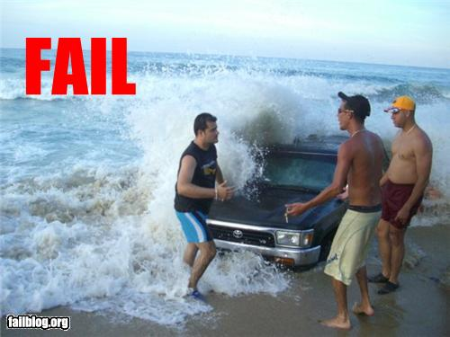 epic fail photos - Beach Ride FAIL