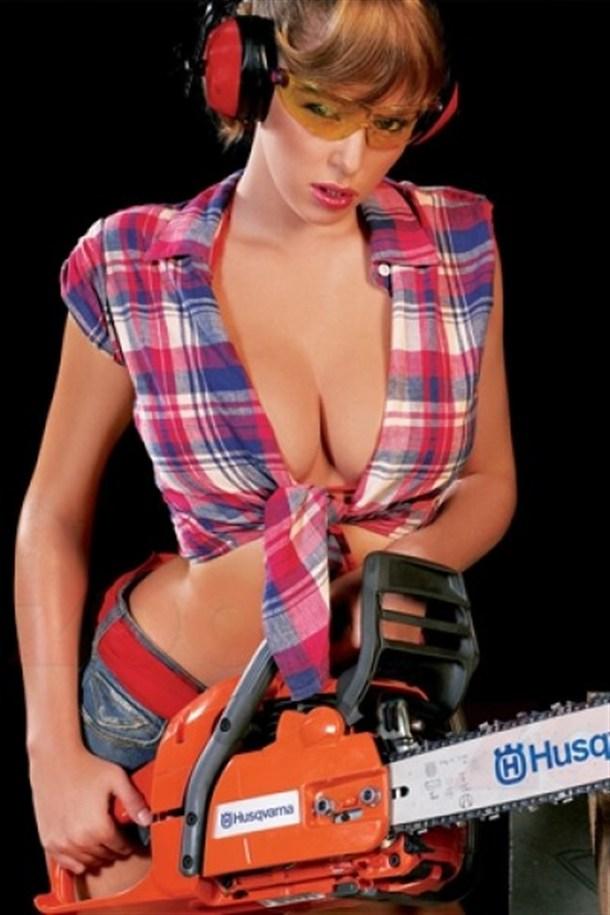 Lumberjack Girl
