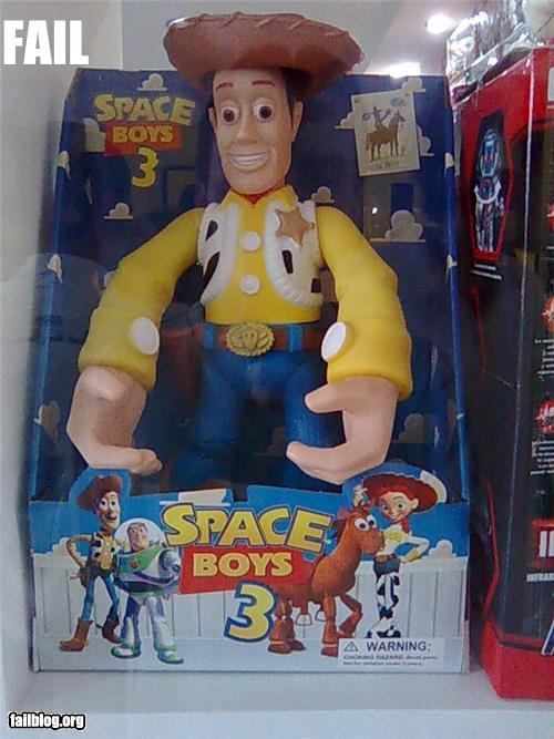 epic fail photos - Woody Doll FAIL