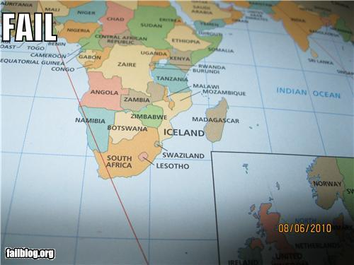 epic fail photos - Map Fail