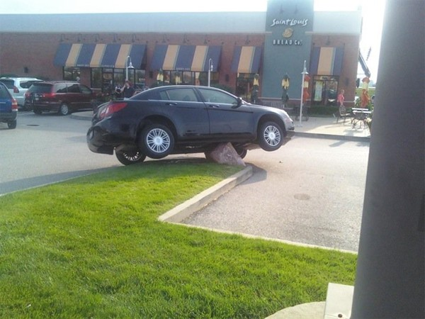 Parking Gone Wrong