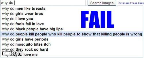 AutoComplete Me Fail: Why do...?