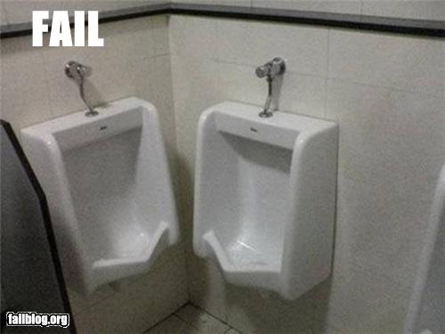 epic fail photos - Urinal FAIL