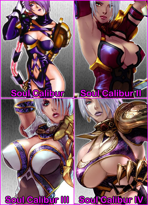 Evolution of Ivy's Breasts (Pic)