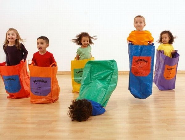 5 Out Of 6 Kids Enjoy Sack Races.