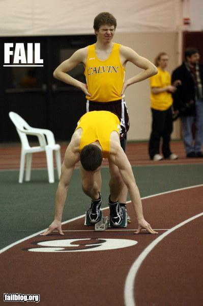epic fail photos - Things That Are Doing It: Track Stars