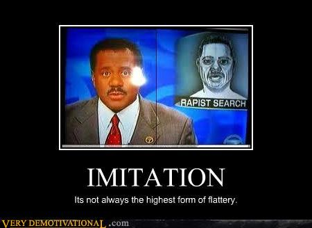 demotivational posters - Classic: IMITATION
