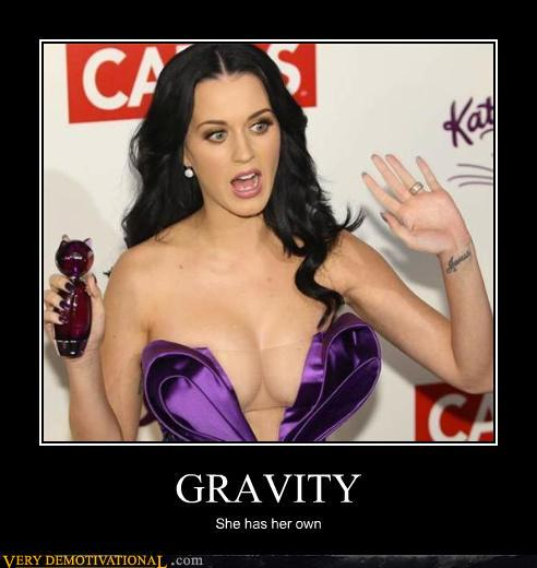demotivational posters - GRAVITY
