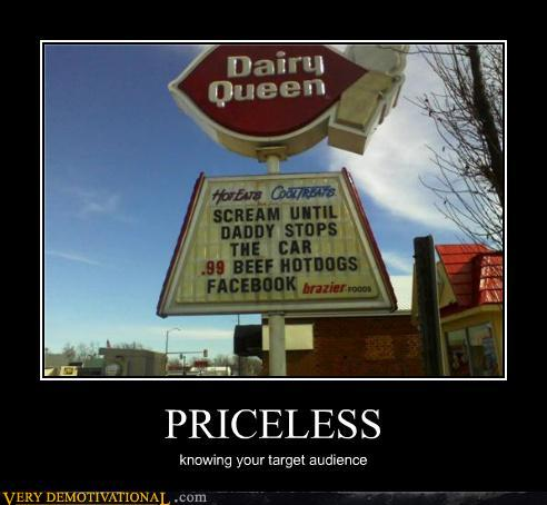 demotivational posters - PRICELESS