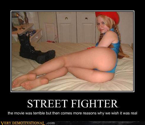 demotivational posters - STREET FIGHTER
