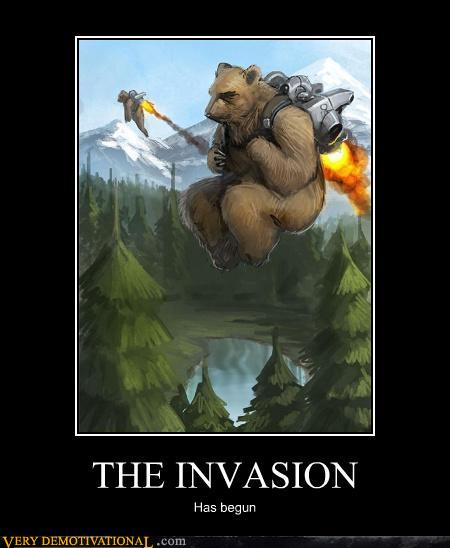 demotivational posters - THE INVASION