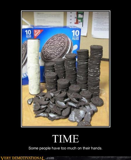 demotivational posters - TIME