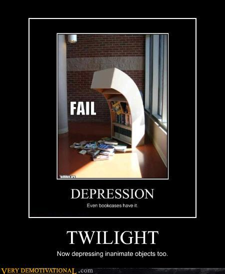 demotivational posters - TWILIGHT