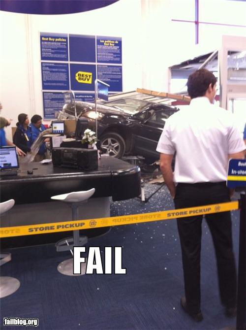 epic fail photos - In Store Pick Up FAIL