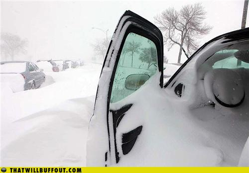 epic fail photos - That Will Buff Out: No One is Going to Shovel That Out to Steal It