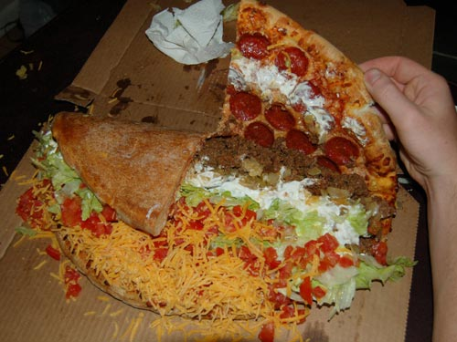 Pizza To Taco