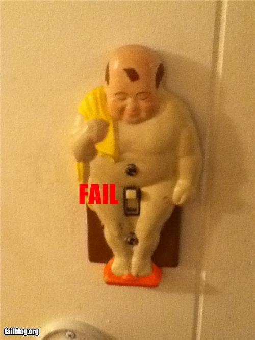 epic fail photos - Things That Are Doing It: Light switch FAIL