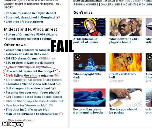 epic fail photos - CNN News FAIL