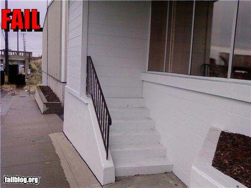 epic fail photos - CLASSIC: Stairway FAIL