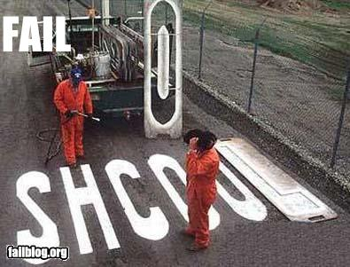epic fail photos - CLASSIC: Spelling School FAIL