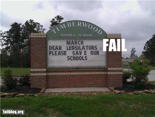 epic fail photos - Education FAIL