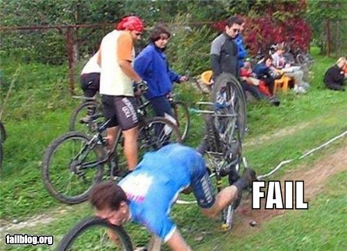 epic fail photos - Bike Riding FAIL