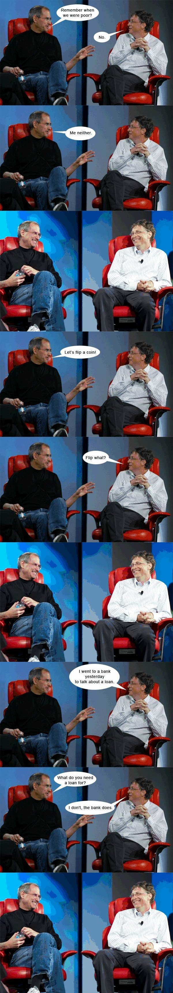 Steve Jobs and Bill Gates finally agree.
