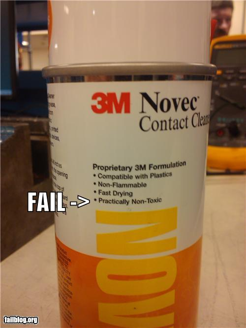 epic fail photos - Reassuring Label FAIL