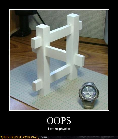 demotivational posters - OOPS