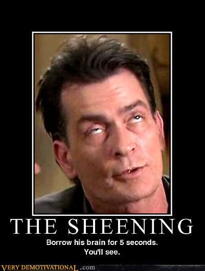 demotivational posters - The Sheening
