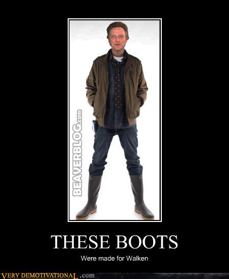 demotivational posters - THESE BOOTS