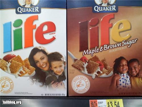 epic fail photos - Racist Cereal Box FAIL