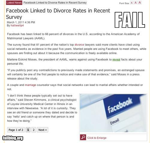 epic fail photos - Failbook: Probably Bad News: 'Til Digital Death Do Us Part