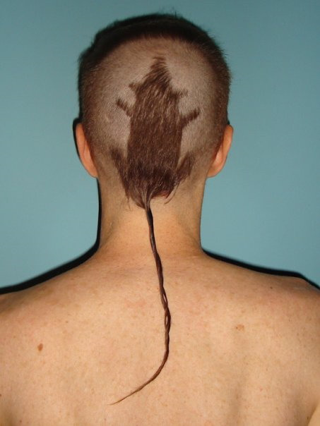 The best possible haircut that any man could get (xpost from r/WTF)