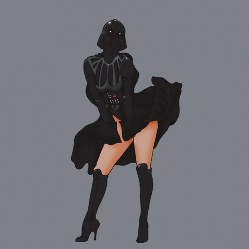 star wars pinup 3
