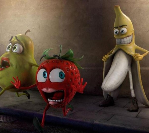 No Wonder My Fruit Is Always Bruised...