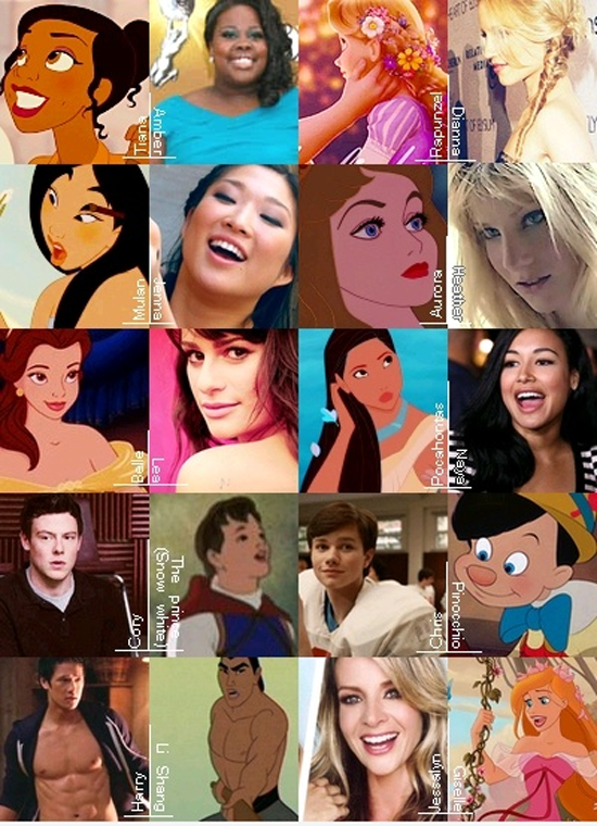 Disney/Glee   Funny Pictures, Quotes, Pics, Photos, Images ...