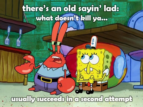 Pic of the day  Sad but true  ladFunniest Spongebob Quotes