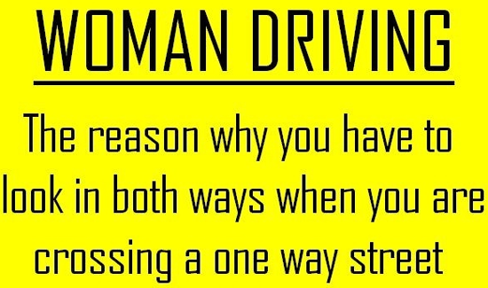 Woman driving   Funny Pictures, Quotes, Pics, Photos, Images ...