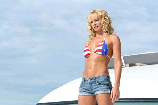 American Flag Girls Pictures