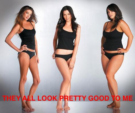 vs curvy Skinny
