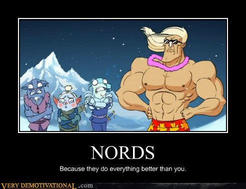 demotivational posters - NORDS