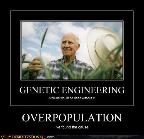 demotivational posters - OVERPOPULATION